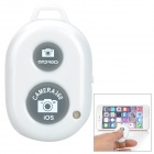 Rechargeable Wireless Bluetooth v3.0 Selfie Remote Shutter - White