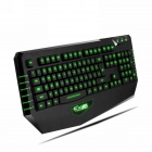 Dare-u 2000-DPI USB Wired 3-Color LED Backlighting Gaming Mouse & Gaming Keyboard Combo Set