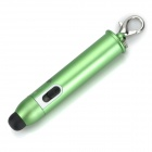 Portable Selfie Bluetooth v3.0 Remote Shutter / Stylus Pen for IPHONE / IPAD / Android Phone - Green