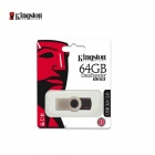 Kingston DataTraveler 101 Generation 3 USB 3.0 Flash Drive - черный + серебро (64 Гб)