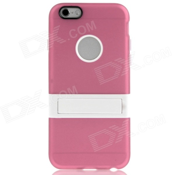 Hat-Prince Protective TPU Case Cover w/ Stand for IPHONE 6 4.7 - Pink gigaset sl450h