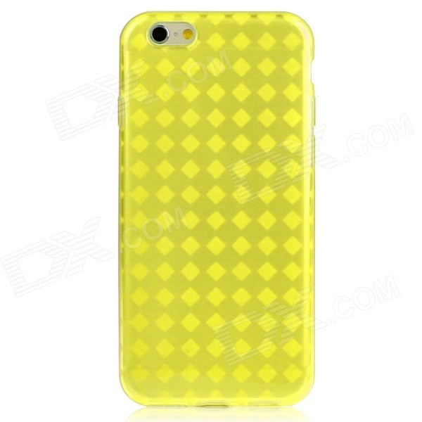 Hat-Prince Protective TPU Case w/ Anti-dust Plugs for IPHONE 6 4.7 - Yellow мягкая игрушка сюрприз собачка рокси и ее щенки just play
