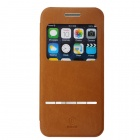 "Baseus PC + PU Case w/ Window + Auto Sleep for IPHONE 6 4.7"" - Brown"