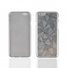 "Angibabe Ultra-thin Rhombus Metal Aluminum Back Cover for IPHONE 6 4.7"" - Silver"