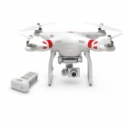DJI Phantom 2 Vision+ 7-Channel Quadcopter with FPV HD 14MP Video Camera - White (FCC)