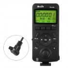 "Meyin TW-836 1.6"" LED 2.4GHz 16-Channel Timer Remote Control for Canon 5D2 - Black (2 x AAA)"
