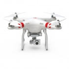 DJI Phantom 2 Vision+ Quadcopter with FPV HD 14MP Video Camera and 3-Axis Gimbal - White (FCC)