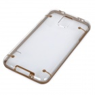 Glow-in-the-dark protecção PC Case Voltar para Samsung Galaxy S5 - Brown + Transparente