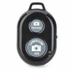 Rechargeable Wireless Bluetooth v3.0 Selfie Remote Shutter - Black