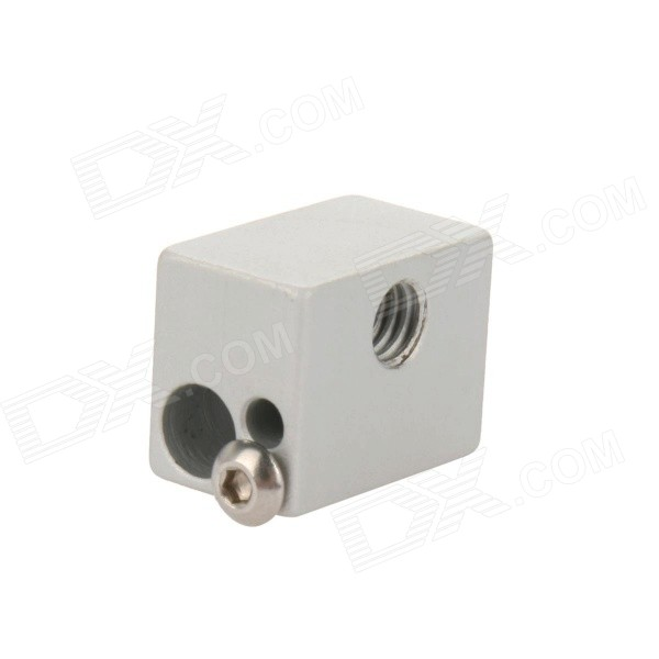 Elecfreaks E00465 Extruder Heated for 3D Printer - Silver