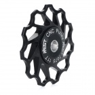 AEST AEST-14 Bike Bicycle Ultra Light 11T Aluminum Alloy Wheels Rear Derailleur Pulley - Black