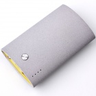 GIZGA 5200mAh Mobile Power Bank Backup Battery Charger for Samsung, HTC, Huawei - Grey