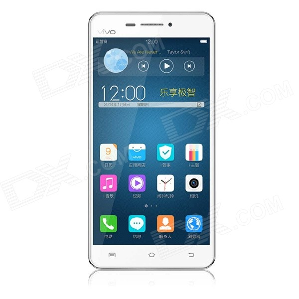 VIVO X3SW Funtouch Octa-Core WCDMA Smartphone W/ 5, 16G ROM, Dual SIM, WIFI, GPS - WhiteAndroid Phones<br>Color White RAM 1GB Internal Storage 16GB Brand OthersVIVO Model X3SW Quantity 1 Piece Material Plastic Shade Of Color White Type Brand New Cellular WCDMAGSM Network Type 2G3G Band Details 2GGSM 850/900/1800/1900 3GWCDMA 900/2100MHz Data Transfer GPRS Network Conversation One-Party Conversation Only WLAN Wi-Fi 802.11 bgn SIM Card Type Micro SIMNano SIM SIM Card Quantity 2 Network Standby Dual Network Standby GPS Yes Bluetooth Version V4.0 OS Android Firmware Version Funtouch OS (Based on Android 4.2) CPU Processor MT6592 1.7GHz CPU Core Quantity Octa-Core Language Chinese and English Memory Card Not support Size Range 5.0-5.4 Inches Touch Screen Capacitive Screen Screen Resolution 1280 x 720 Multitouch 10 Screen Size ( inches) 5.0 Main Camera Lens Features N/A Camera Pixel 13.0MP Front Camera Pixels 5 MP Flash Yes Talk Time 20-30 Hour Standby Time 200-300 Hour Battery Capacity 2000 mAh Battery Type Non-removable Sensor G-sensorproximitycompassOthersLight sensor Waterproof Level IPX0 I/O Interface Micro USB3.5mm Software Calculators electronic dictionaries radio e-books alarm clock calendar recorder etc Format Supported Audio formats support: MP3 / AAC/AAC + / AMR/MIDI/FLAC/WMA WAV/APE/OGG etc Video formats supported: MP4/3 gp/AVI/WMV/MKV etc WLAN Features Wi-Fi Direct TV Tuner No Packing List 1 x Cell phone 1 x Headphones (110 cm) 1 x Cable (85 cm) 1 x Charger (US plug 100-240V) 1 x Card pin 1 x Transparent protection shell 1 x Chinese manual<br>
