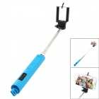 TOP-FLIGHT Universal Wireless Bluetooth V3.0 Selfie Monopod for iOS / Android System w/ MF - Blue