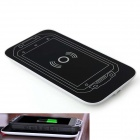 Portable Smartphone Wireless Charger Pad + 2000mAh Li-ion Battery for iMAN i3 - White + Black