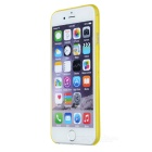 W-1 Ultra-thin Protective PC Back Case for IPHONE 6 - Translucent Yellow