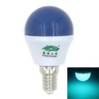 Zweihnder E14 3W 280lm 6500K 8-SMD 2835 LED Blue Light Bulb Lamp - Blue + White (AC 100~240V)