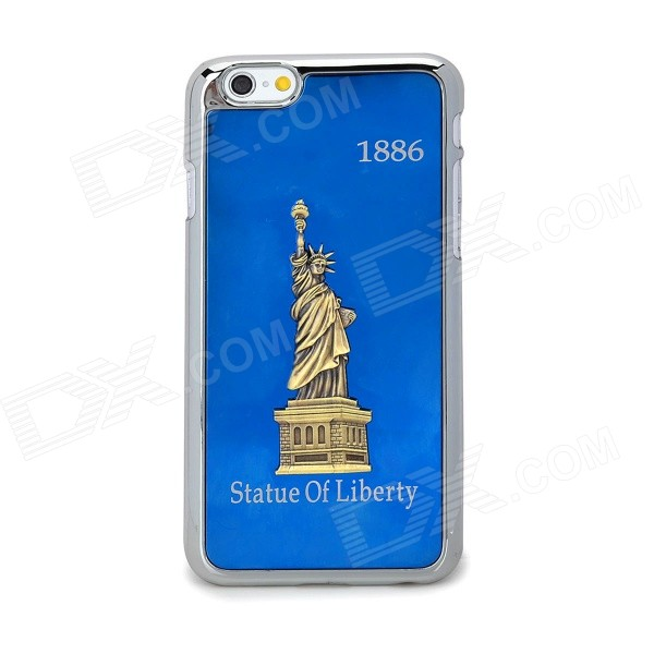Statue of Liberty Pattern Protective Titanium Alloy + Plastic for IPHONE 6 4.7