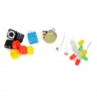 KEYES DIY Board Learning Kit for Raspberry Pi - Translucent + Multicolored