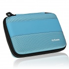 "AIR CASE Q254 Storage Case for 2.5"" External Slim Portable Hard Drive / Power Bank - Light Blue"