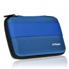 "AIR CASE Q254 Protective Storage Case for 2.5"" External Slim Portable Hard Drive / Power Bank - Blue"