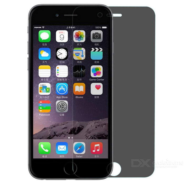 "EPGATE A00674 9H Hardness Super Tempered Glass Screen Protector for IPHONE 6 4.7"" - Gray"