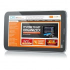 "P908 LCD 7 Android 4.4.2 Dual-Core GSM Tablet PC w / 8 Go ROM, GPS, Wi-Fi, Bluetooth Talker ""- Noir"