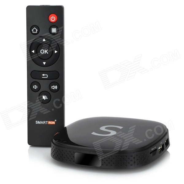 Smartron S805 firekjerners Android 4.4.2 Google TV Player w / 1GB RAM, 8 GB ROM, 47 land XBMC, H.265