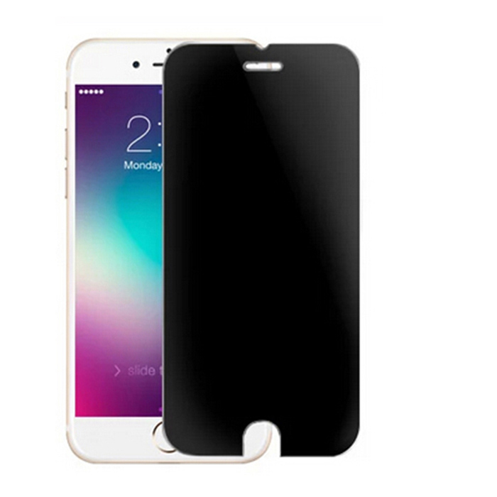 EPGATE A00673 9H Hardness Super Tempered Glass Screen Protector for IPHONE PLUS - Grey fema front back 6d colorful laser tempered glass screen films for iphone 6s plus 6 plus rainbow triangles