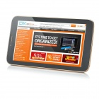 """ écran Android 4.2.2 Dual-Core 3G Tablet PC HX-X1 7 w / Dual-SIM, Wi-Fi, GPS - Noir + or"