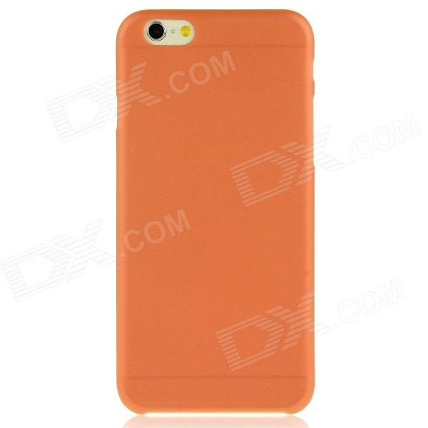 Hat-Prince 0.3 mm Ultra-thin Protective PC Soft Back Case for IPHONE 6 PLUS 5.5 - Orange