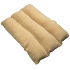Luxury Comfortable Cotton Nest Bed Pad for Pet Cat / Dog - Khaki + Brown (Size S)