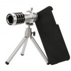 EPGATE A00678 Mobile Phone Telephoto Lens w/ Tripod for IPHONE 6 Plus 5.5' - Silver