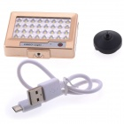 EOSCN S60 5600K Universal LED Video Light LED Fill Light for Mobile Phone and Digital Camera - Gold