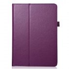 Buy Lichee Pattern Protective PU Leather Case Cover Stand Auto Sleep IPAD AIR 2 - Purple