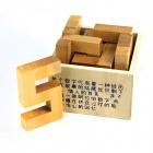 Educational Puzzle Unlocking Numbers Game Toy for Kids / Children - Wood