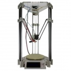 "Heacent Rostock Mini Pro 3D Printer DIY Kit  w/ 3"" Display - White (0.3mm Nozzle / 1.75mm Filament)"