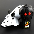 Cute Mouse 2-Channel Remote Control Toy - Black + White