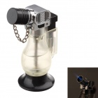 Mode Butan Hurricane Lamp Lighter - Black + Transparent