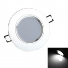 Zweihnder CMY-18 3W 280lm 6500K 24 x SMD 3528 LED White Light Ceiling Light - (110~240V)