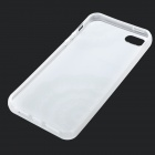 Protective Patterned TPU Back Case Cover for IPHONE 5 / 5S - White + Black