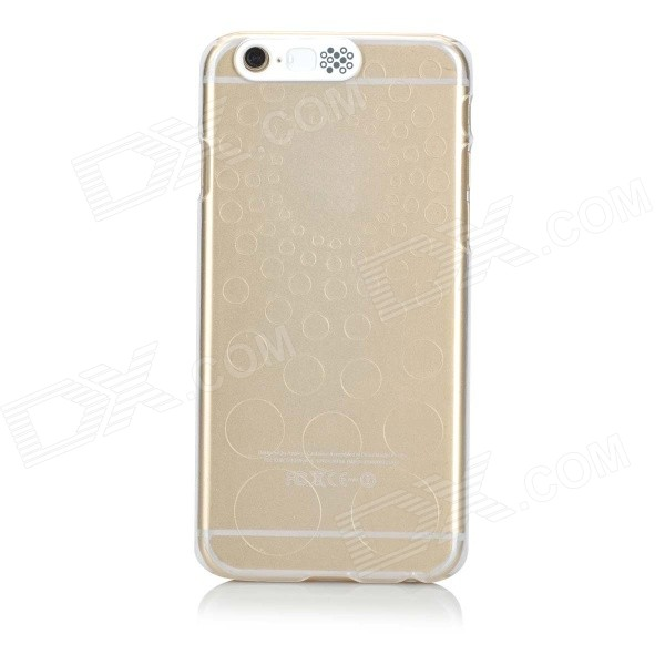 Protective PC Back Case w/ Incoming Calls Flash for IPHONE 6 4.7 - Transparent for iphone 6s 6 incoming call led flashing pc tpu case cover wintersweet