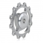Bike Bicycle 12T Aluminum Alloy Wheels Rear Derailleur Pulley - Silver