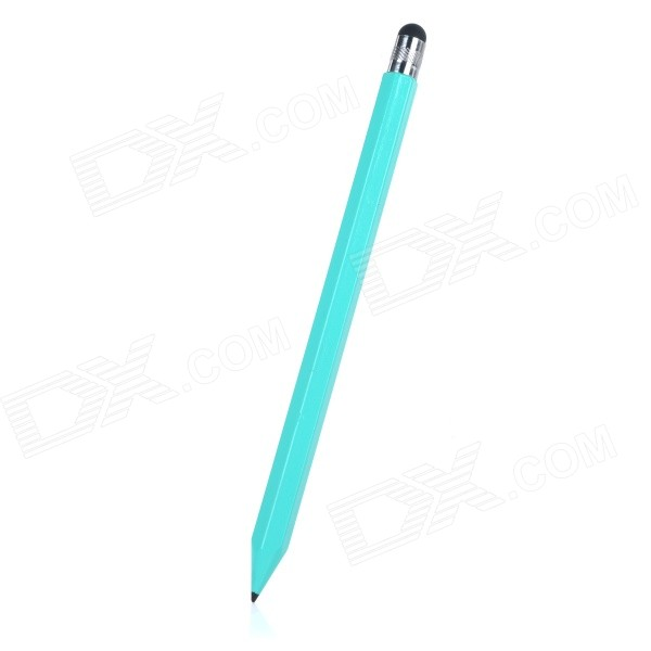 Carbon Capacitive Screen Stylus Touch Pen w/ Pencil - Green