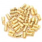 6.0mm Gold Plated Banana Plug Jack Connector Set - Golden (20 Pairs)