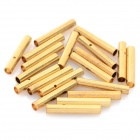 2.0mm Gold Plated Banana Plug Jack Connector Set - Golden (20 Pairs)