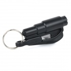 Seeworld AQ001 Glass Breaker & Seatbelt Cutter Car Escape Rescue Tool Keychain - Black