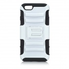 Detachable Plastic + ABS Back Case w/ Stand for IPHONE 6 4.7