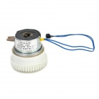 3.6W 24V Clutch Motor for RICOH 1015 / 1018 / 2015 / 2018 / 1610 / 1800 - White + Silver