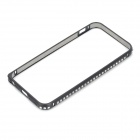 Protective Aluminum Alloy Frame Bumper Case for IPHONE 5 / 5S - Black